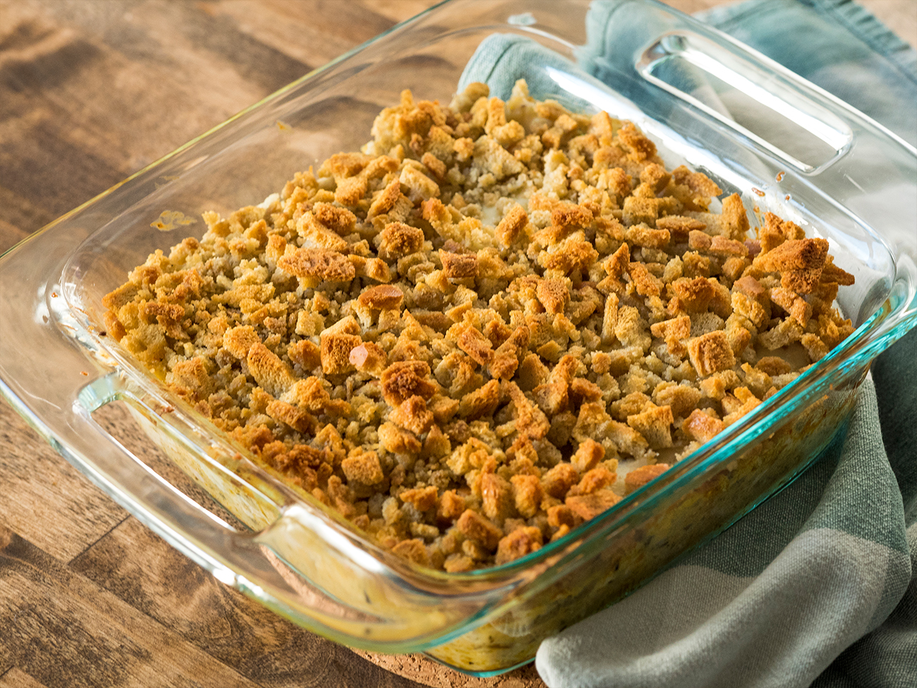 Wild Rice and Chicken Casserole Horizontal 1
