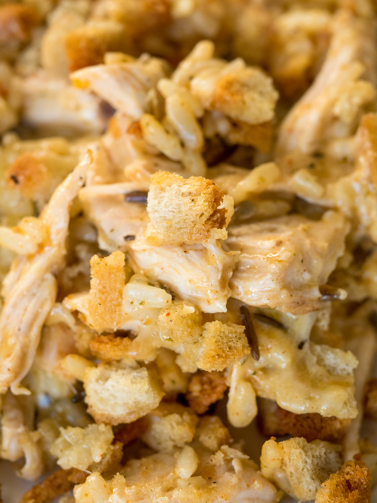 Wild Rice and Chicken Casserole Vertical 2