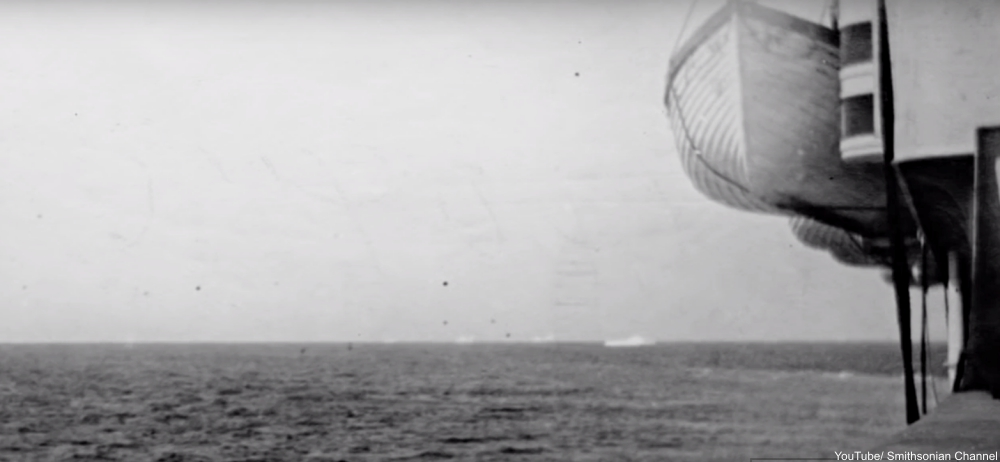 historic photographs of the Titanic disaster were captured by a young woman
