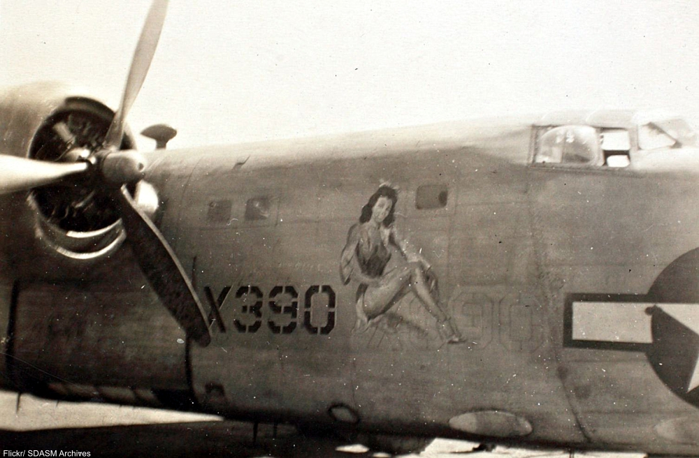 The Incredible Nose Art of WWII Bomber Planes