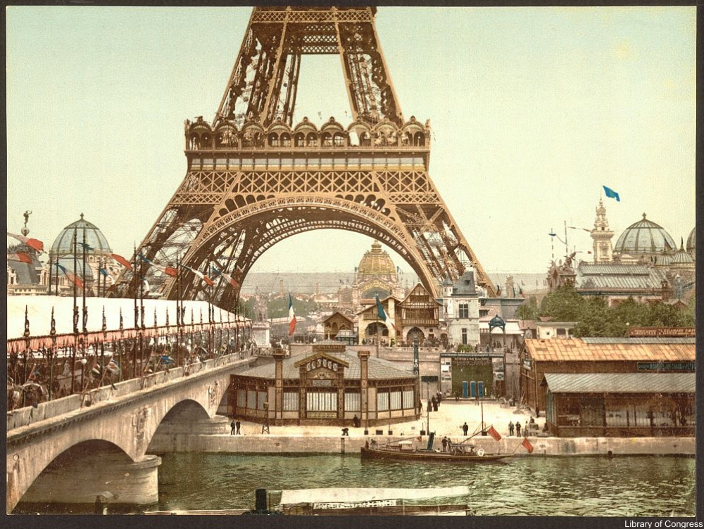 Take a Peak Into the Paris World's Fair of 1900