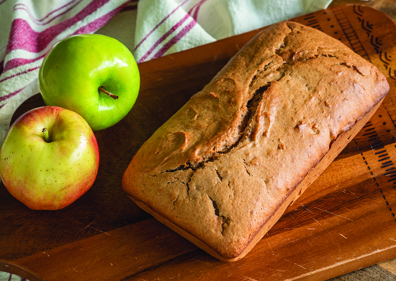 Apple Sauce Quick Bread Horizontal 4
