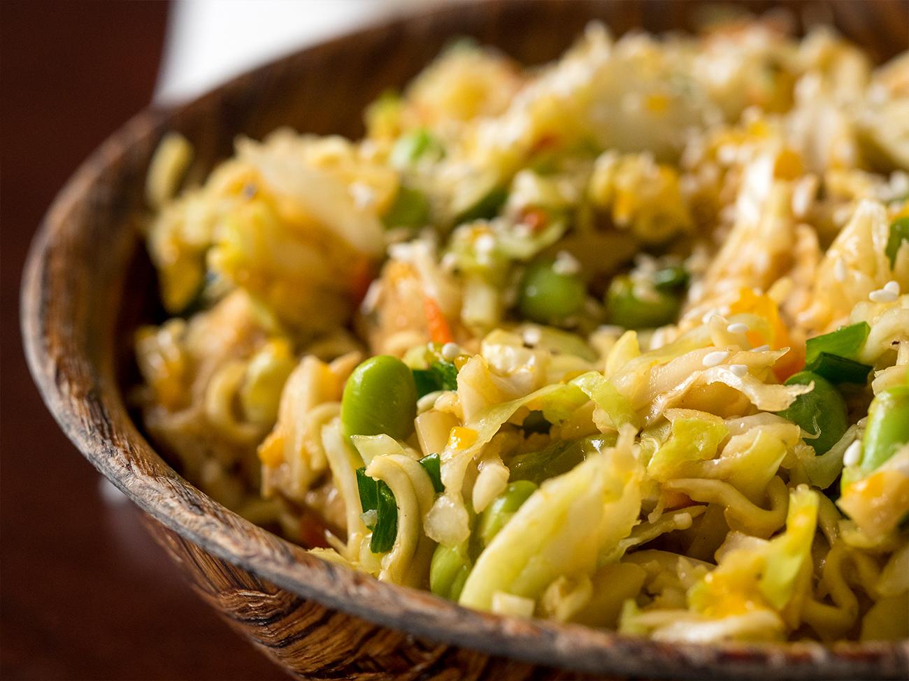 Asian Ramen Salad Horizontal 2