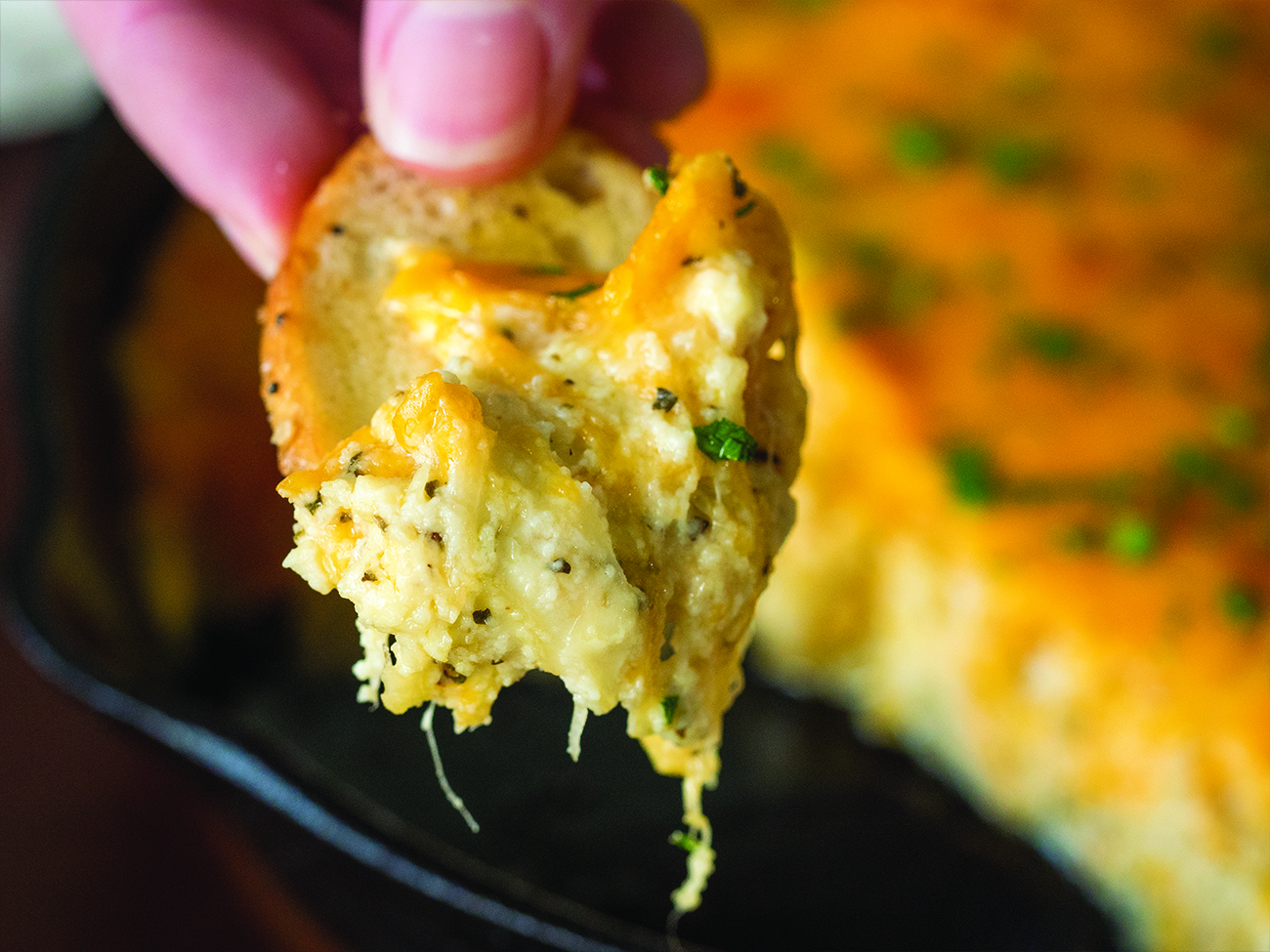 Cheesy Garlic Dip Horizontal 5