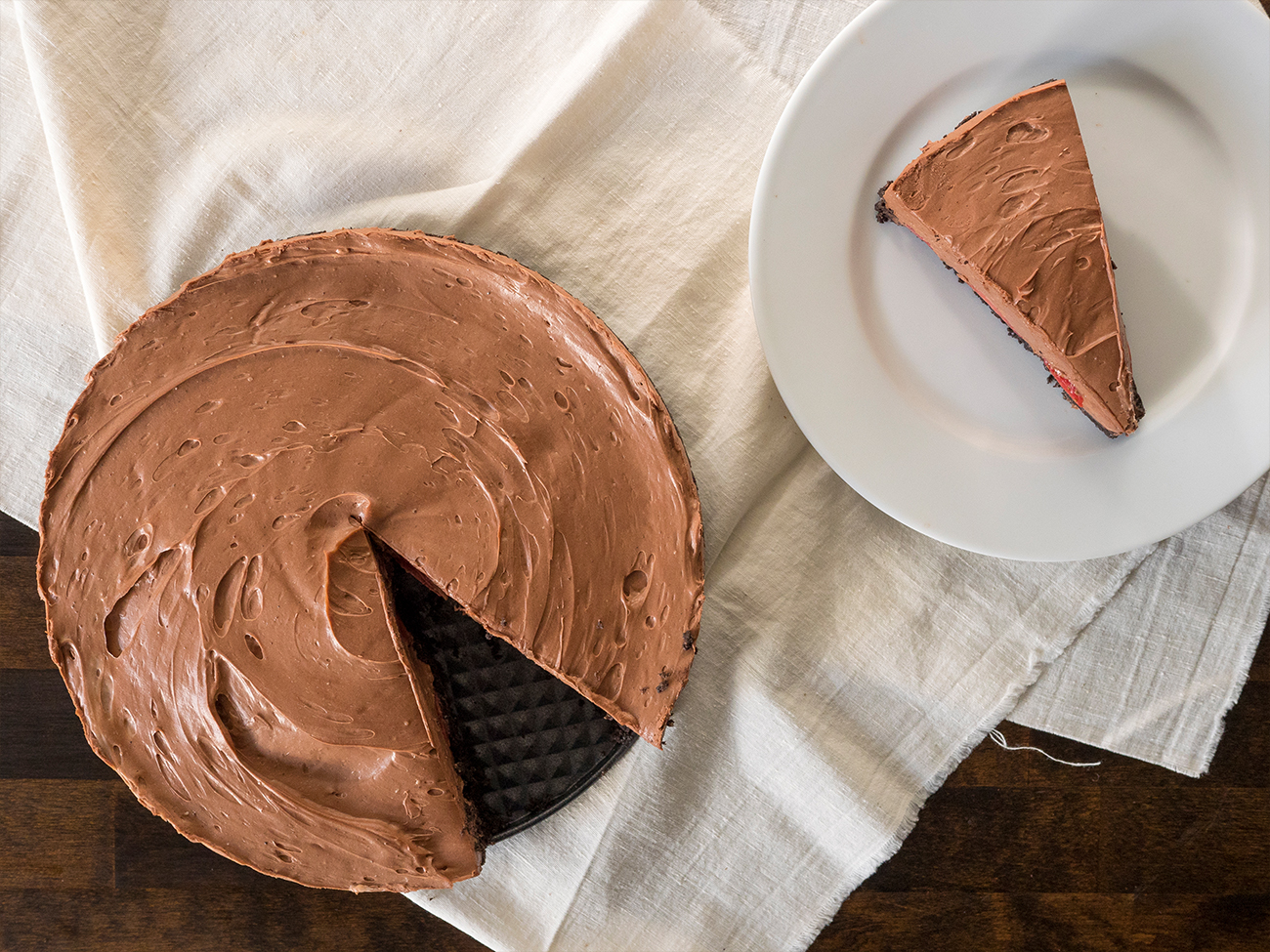Chocolate Oasis Pie Horizontal 2