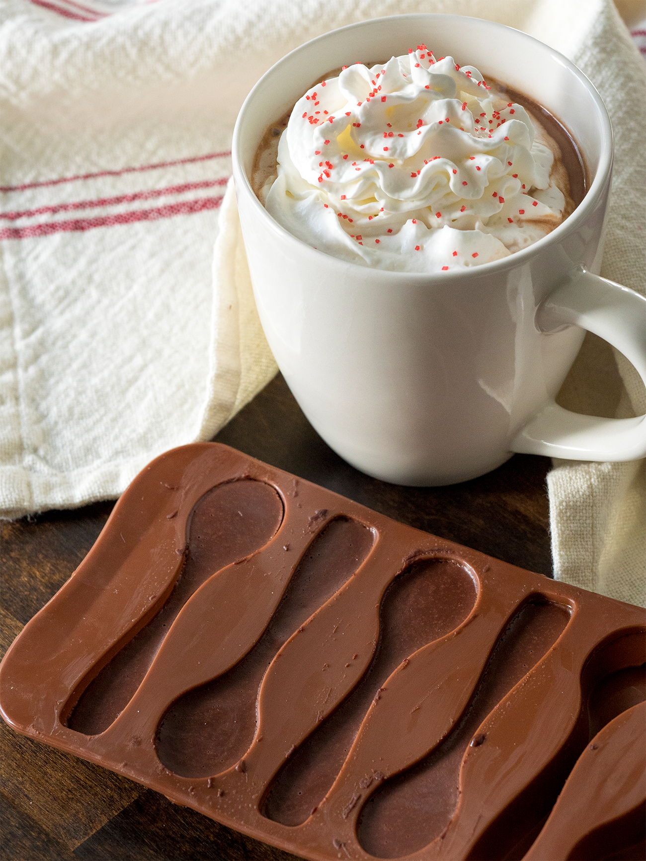 Chocolate Spoon Mold Vertical 1