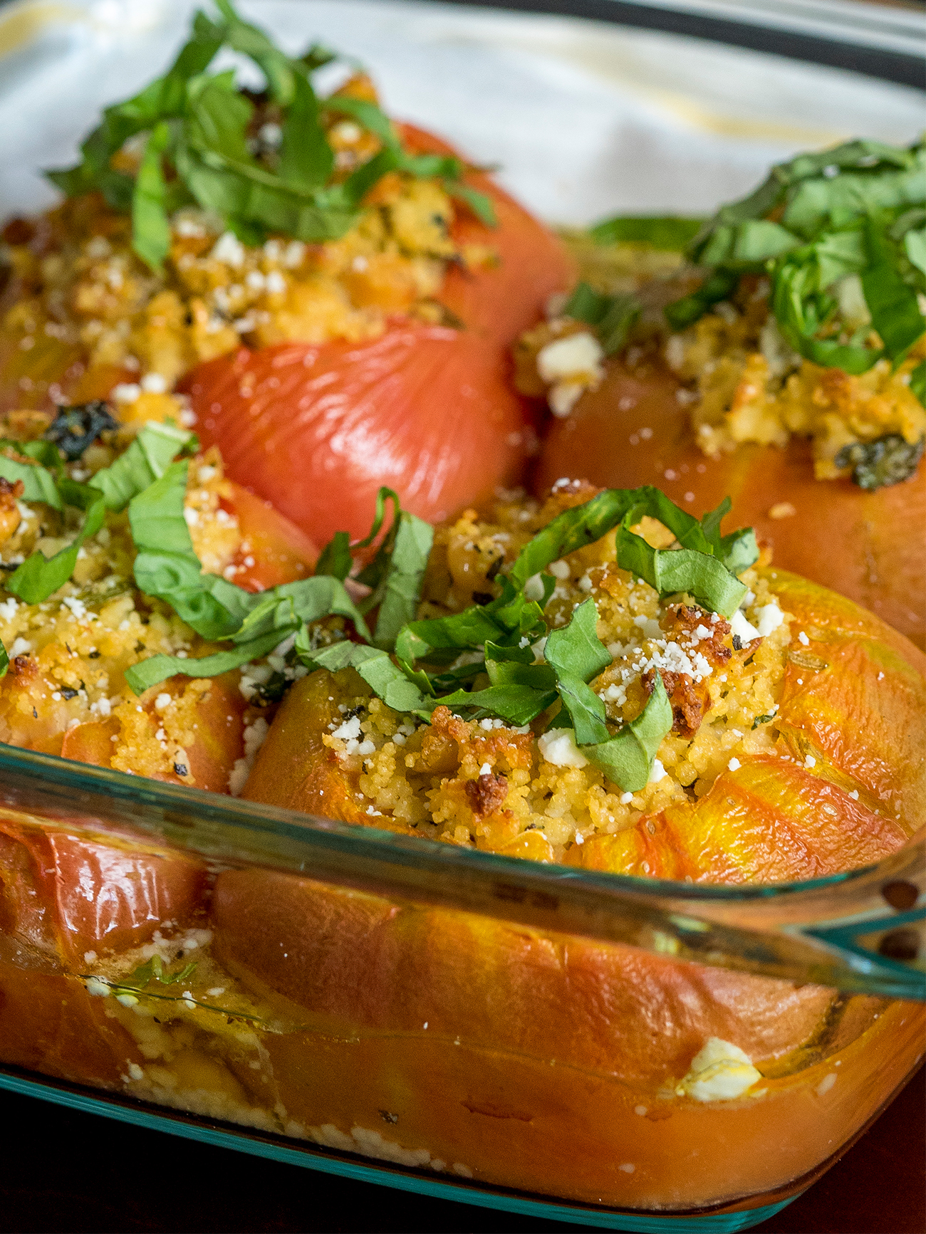 Mediterranean Stuffed Tomatoes Vertical 1