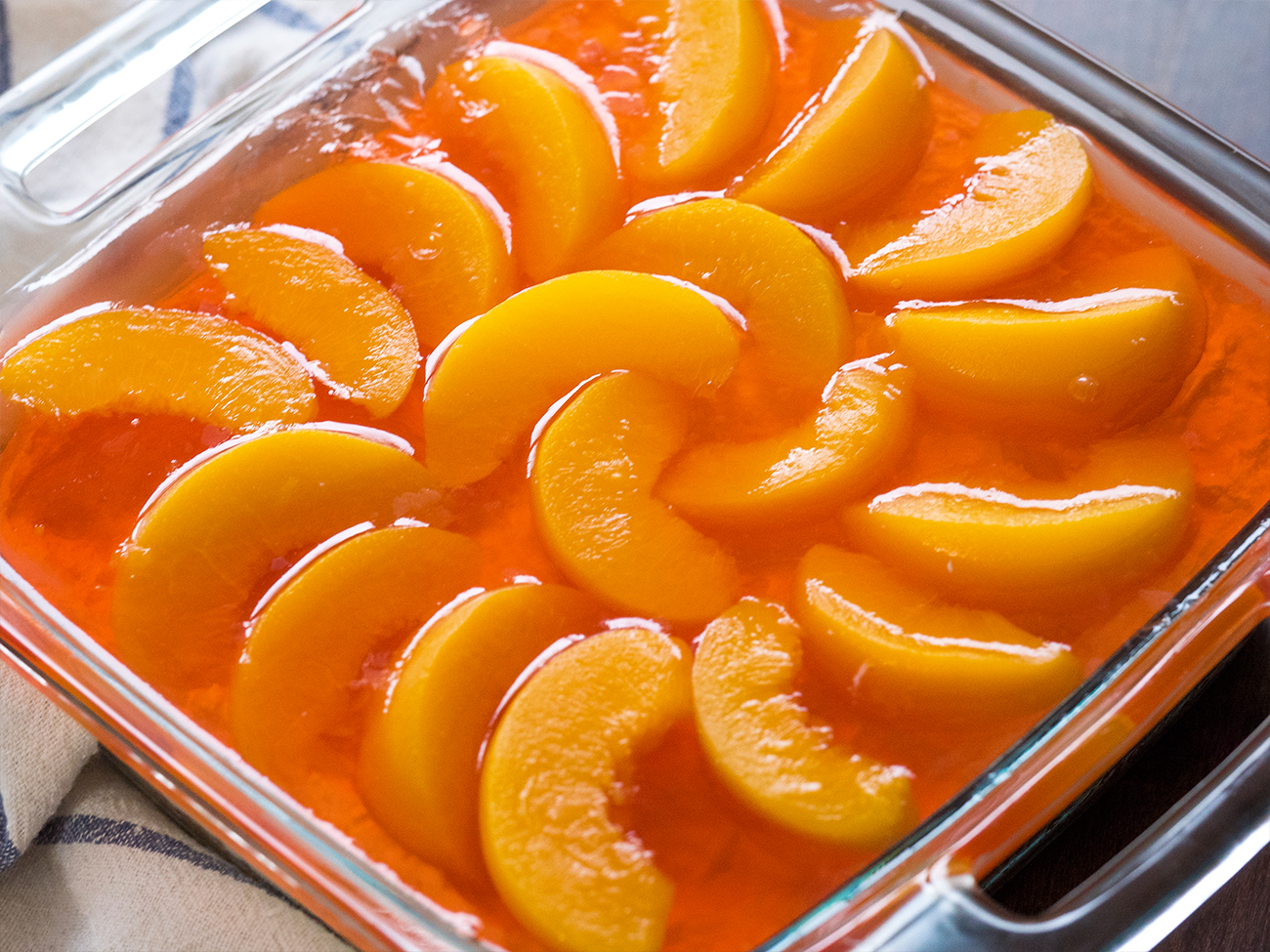 Peach Pretzel Jello Salad Horizontal 2