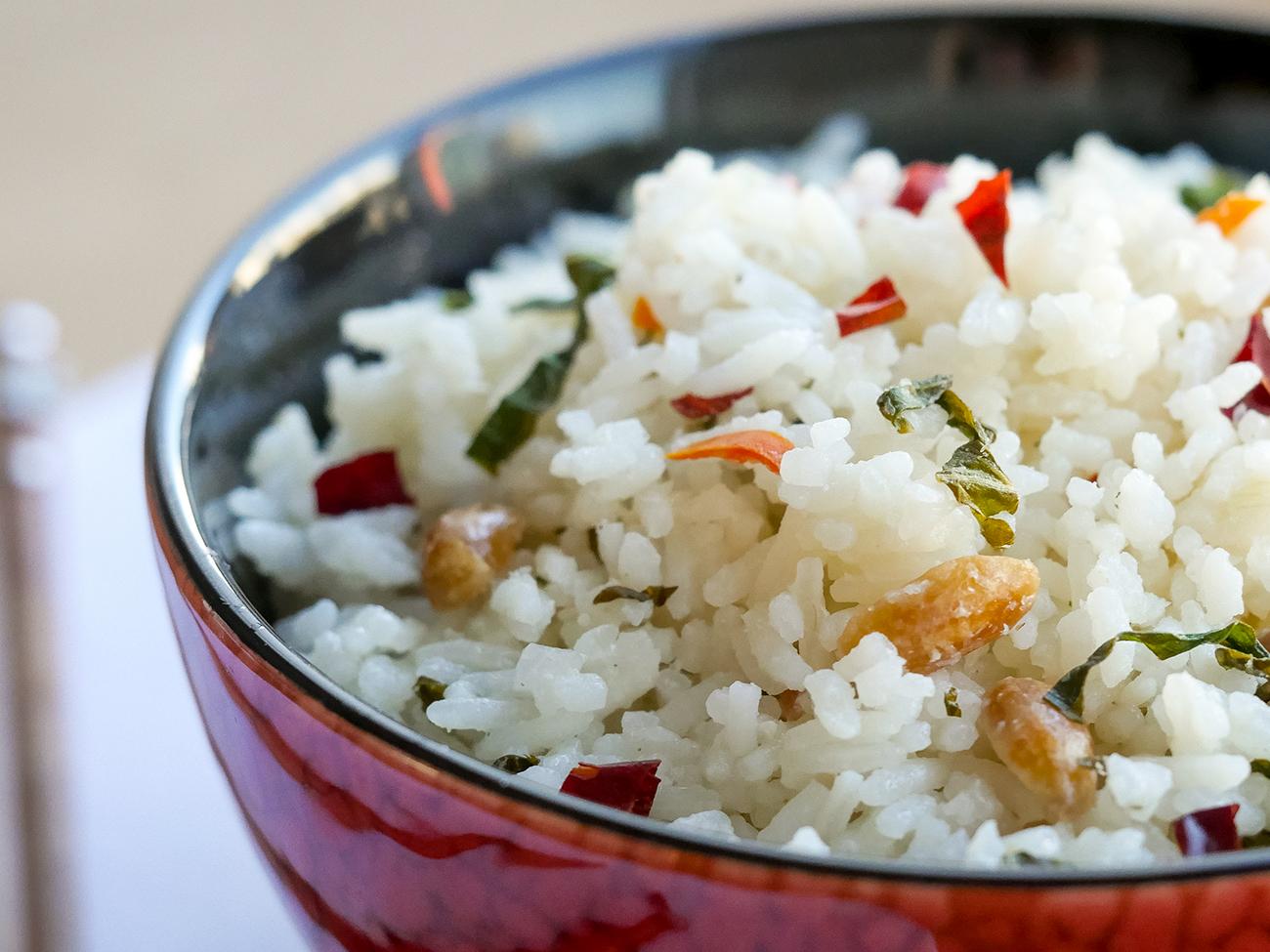 Spicy Thai Rice Horizontal 2
