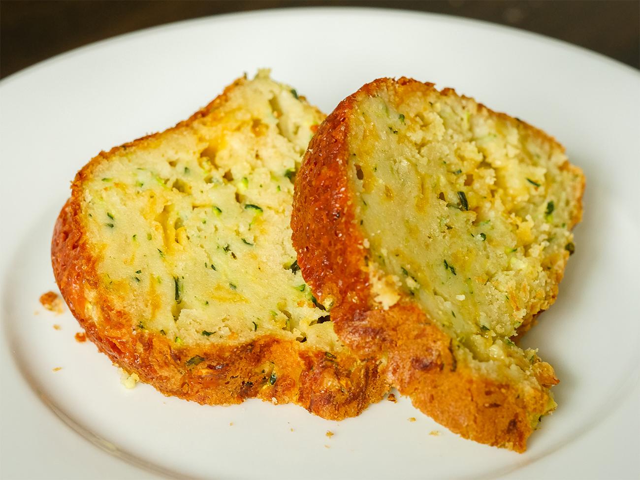 Zucchini Parmesan Bundt Bread – 12 Tomatoes
