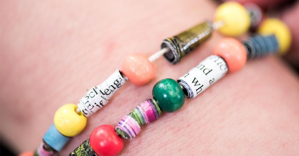 close up bead