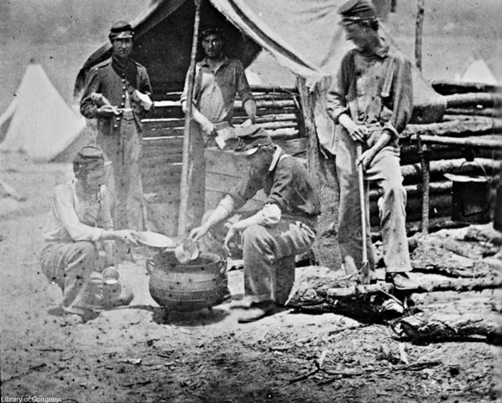 What Did Civil War Soldiers Eat?