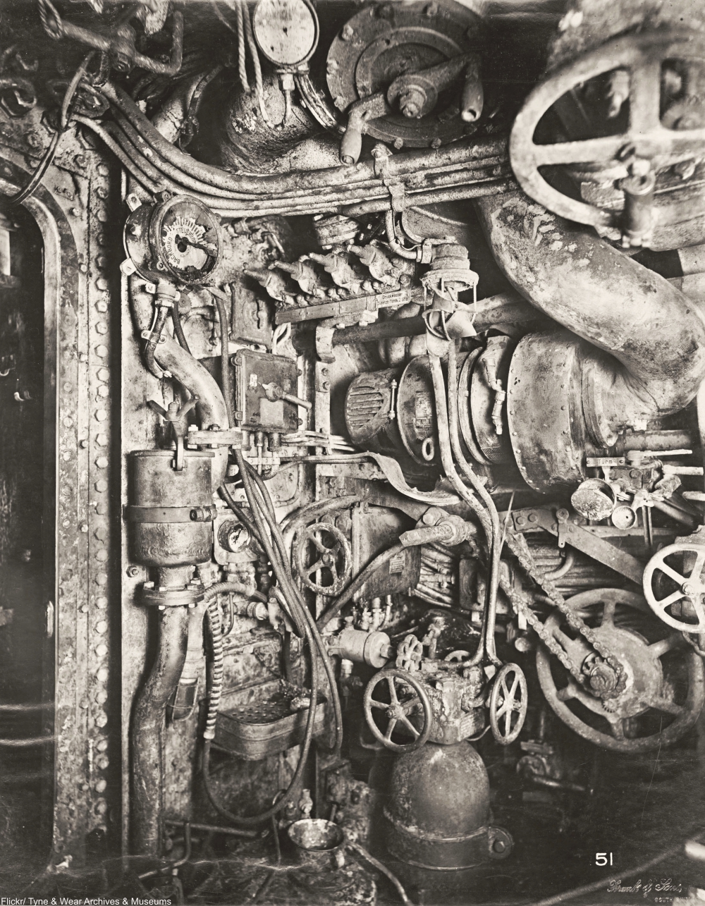 See a Rare Glimpse Inside a German U-Boat from WWI
