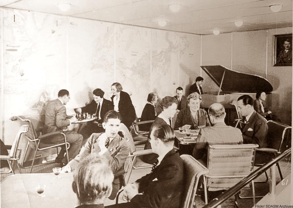 Take a Peek Inside the Infamous Hindenburg Airship