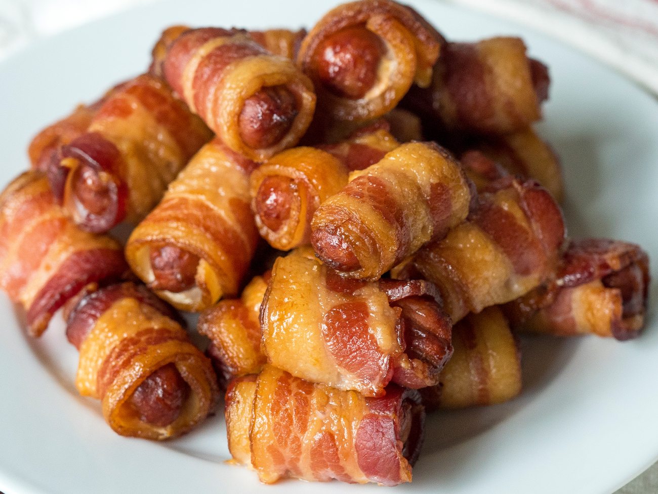 Bacon Wrapped Smokies Horizontal 2