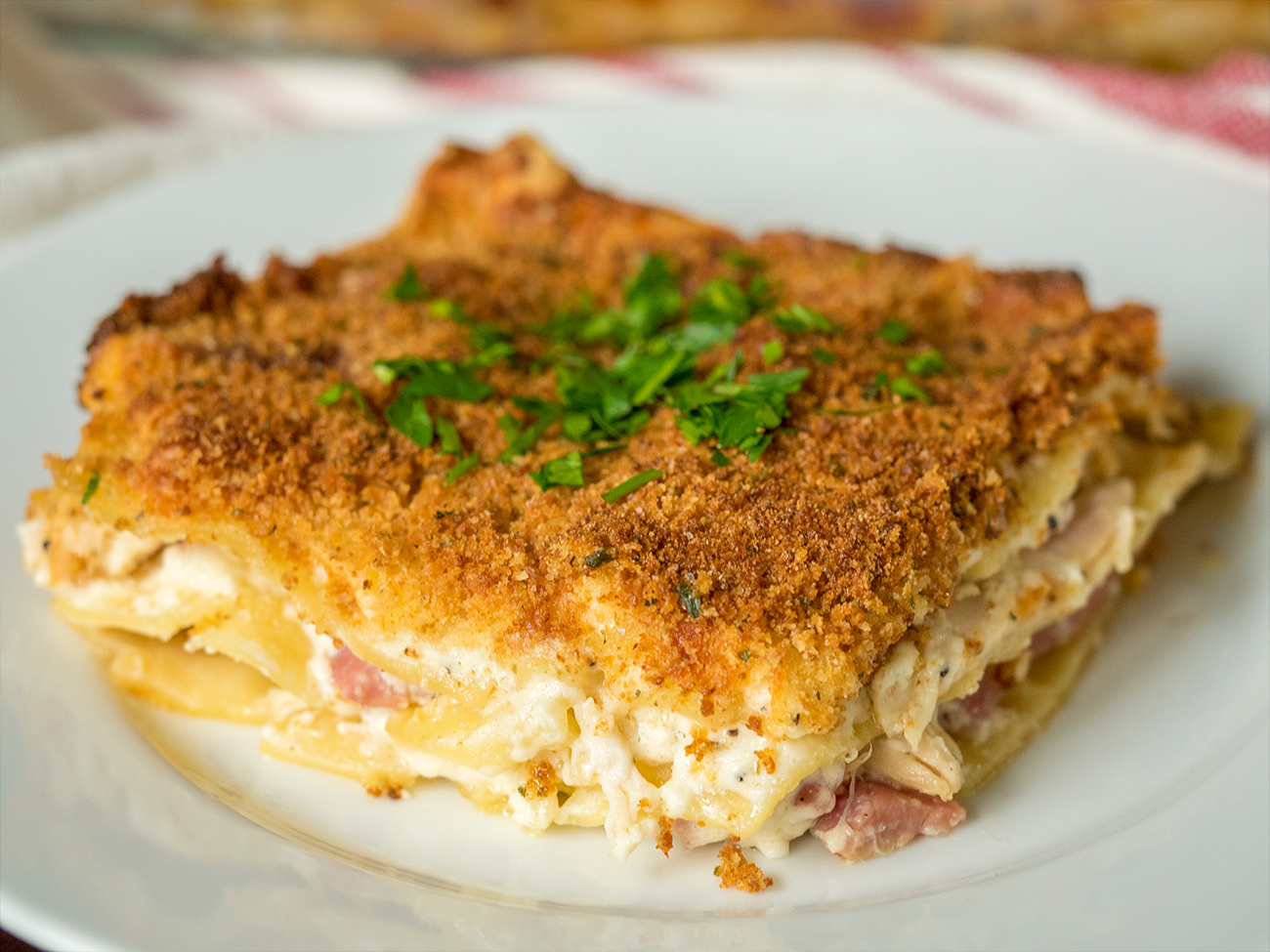 Chicken Cordon Bleu Lasagna Horizontal 1