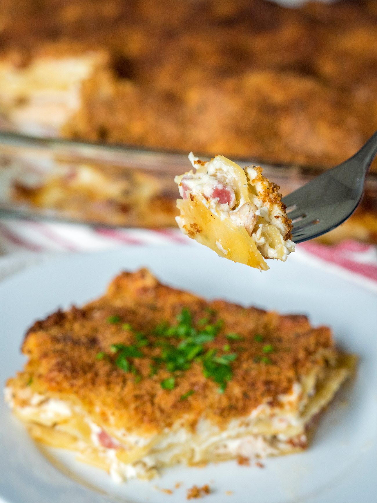 Chicken Cordon Bleu Lasagna Vertical 1
