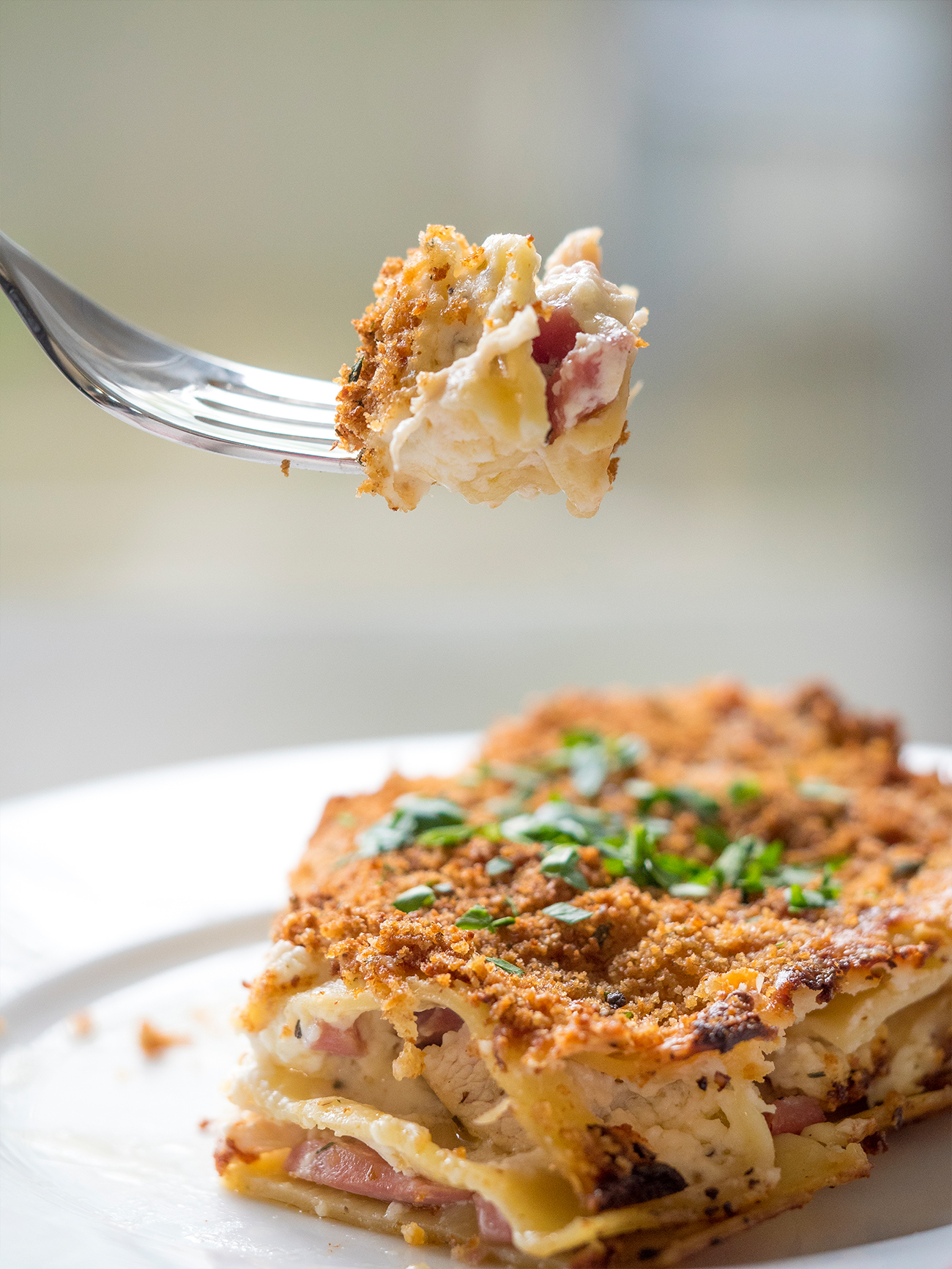 Chicken Cordon Bleu Lasagna Vertical 2