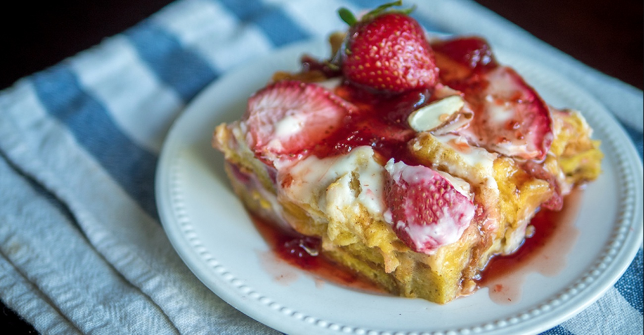 French Toast Bake Featured