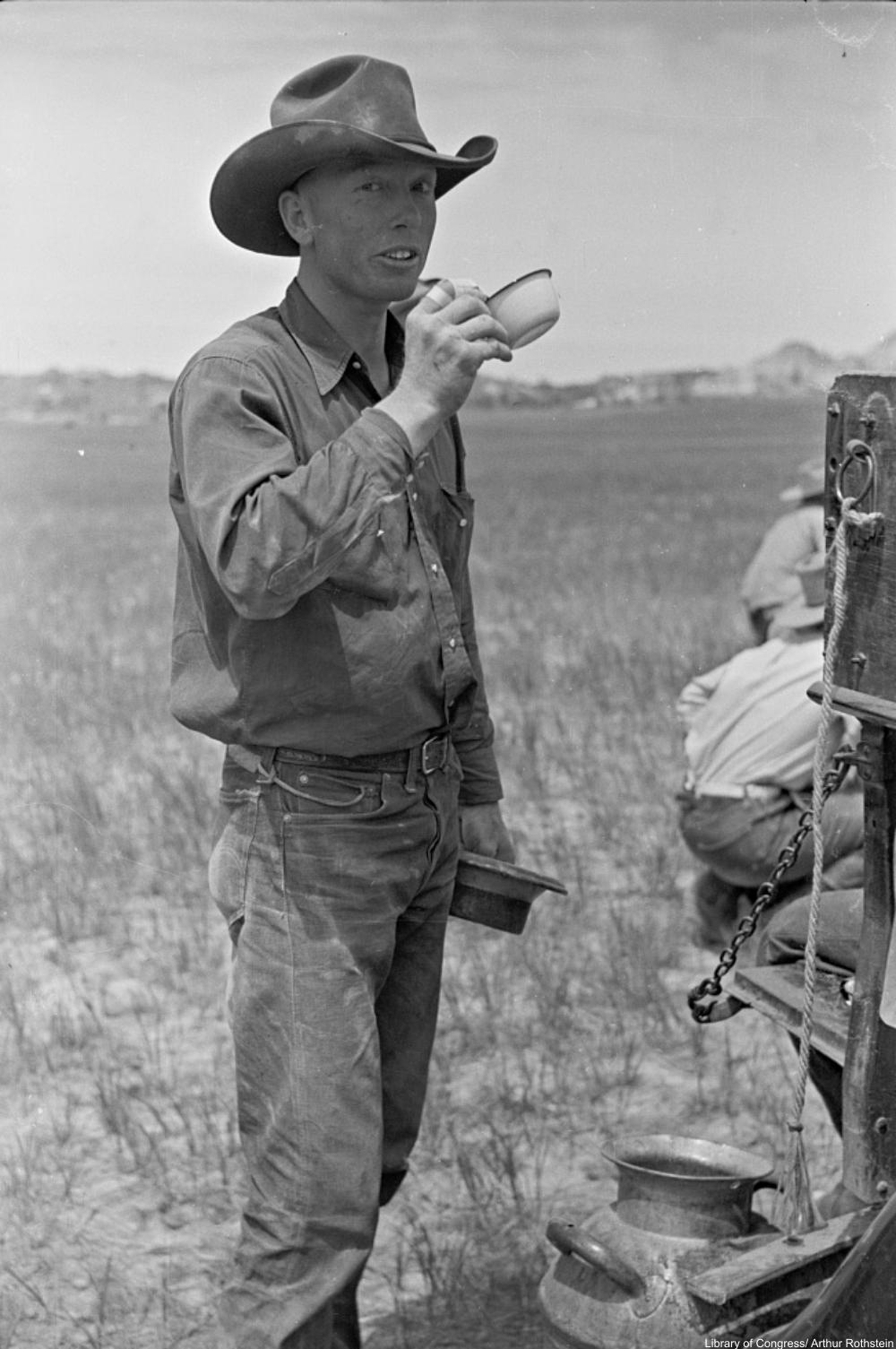 Why did cowboy fashion catch on?