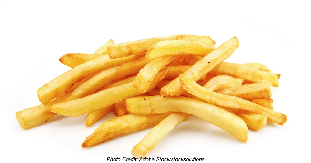 freedom fries isolated on white