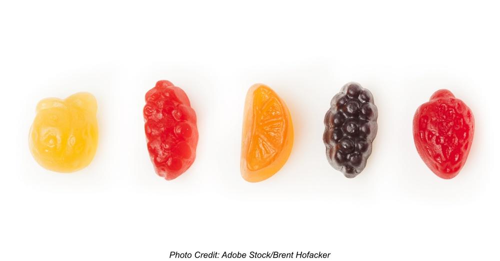 Organic Fruit Gummy Snacks for Kids