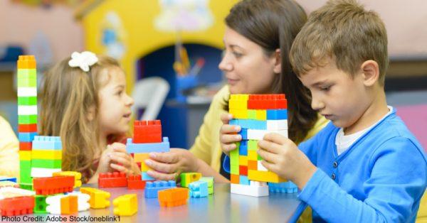 Kids Playing at Kindergarten