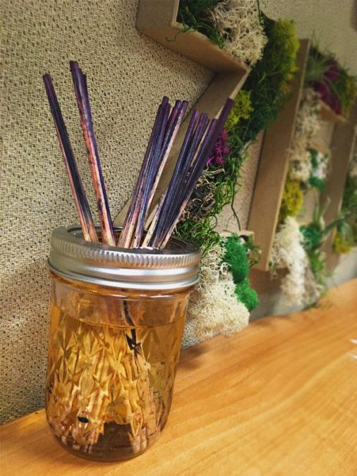 purple reeds
