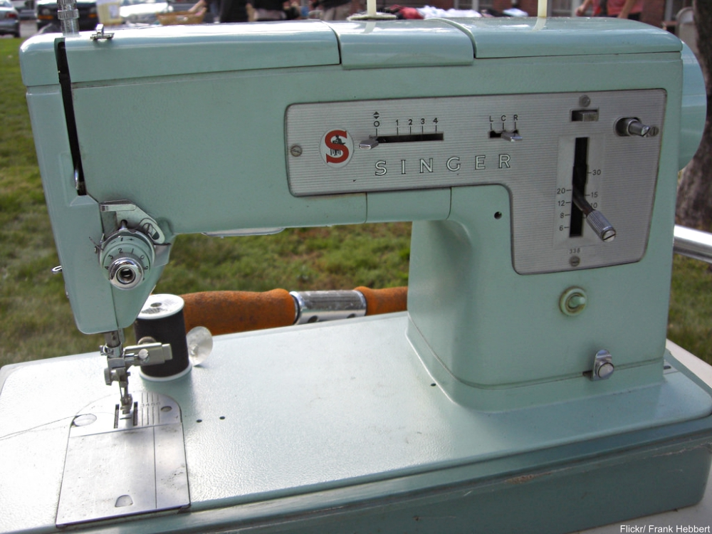 Fabulous Old Sewing Machines We Love!
