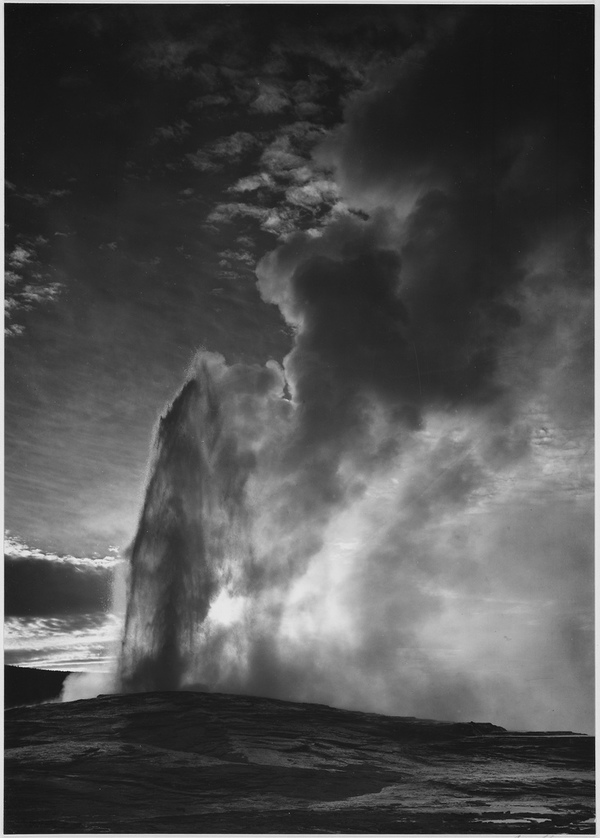11 stunning photos of ansel adams american west the for Ansel adams mural project 1941