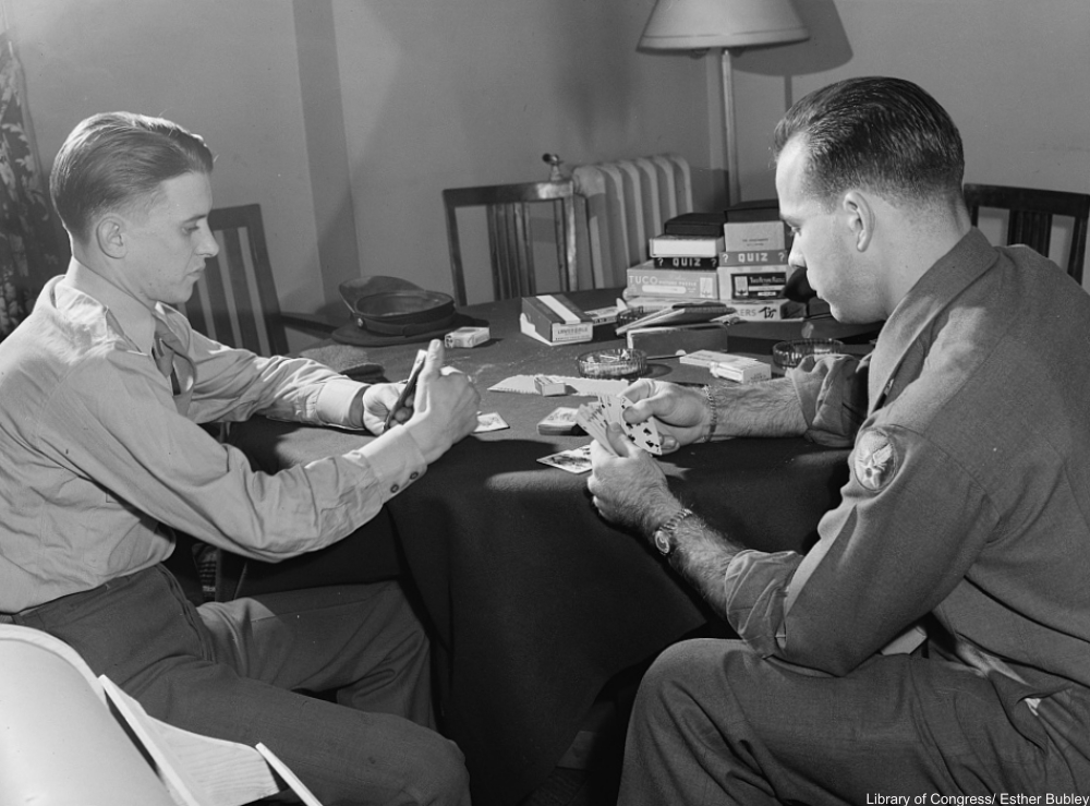 Fabulous Photographs of Old-fashioned Card Games