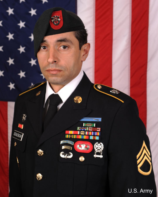 Staff Sgt. Mark De Alencar