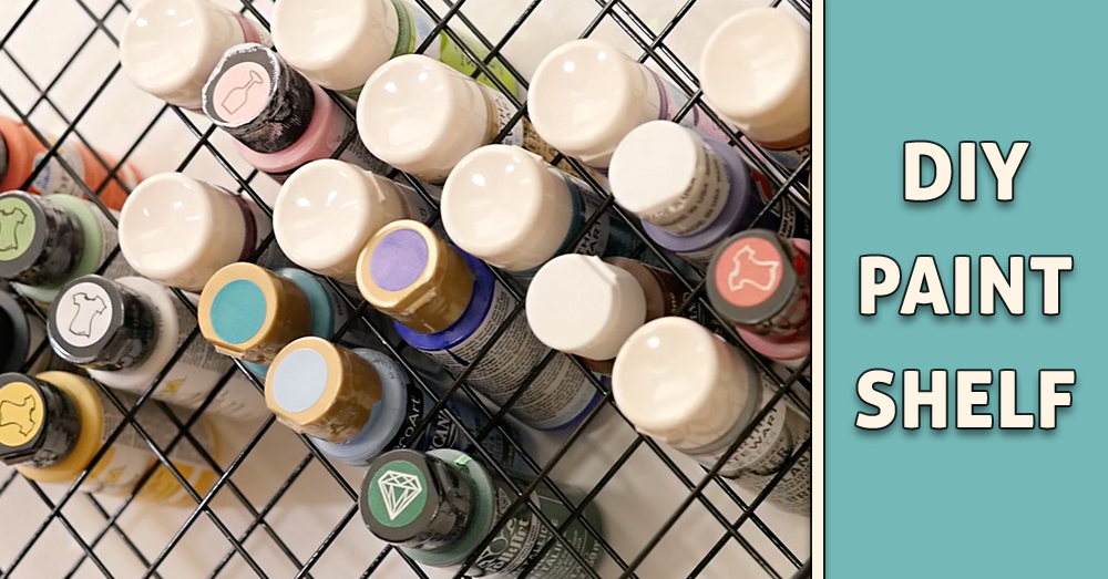 paint shelf hack