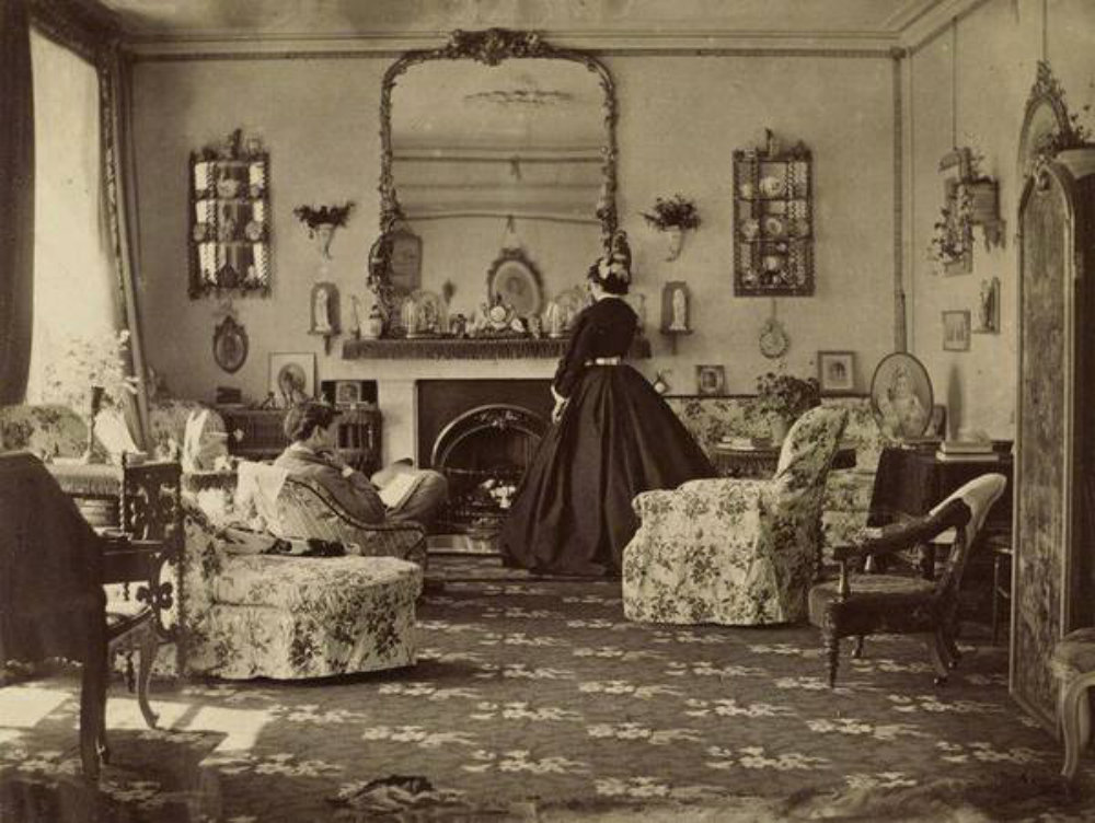 A rare look inside victorian houses from the 1800s 13 for Our victorian house