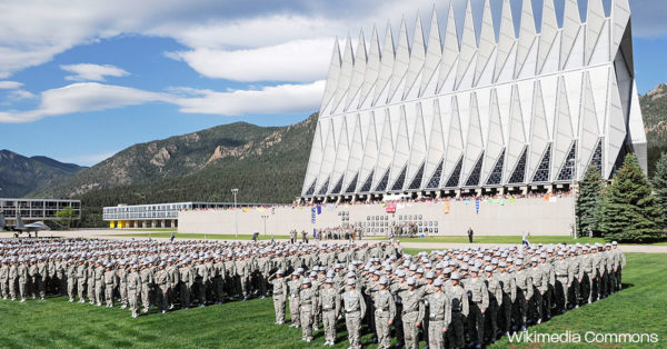 The U.S. Air Force Academy.