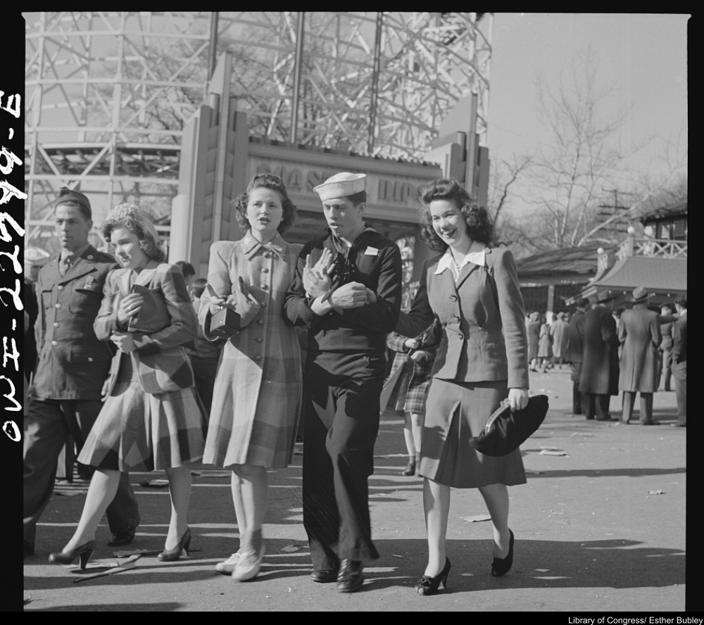 A Trip to the Glen Echo Amusement Park in 1943