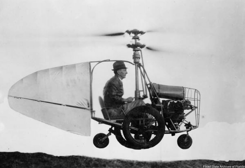 6 Flying Cars from the Golden Age of Invention