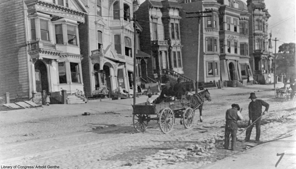 The Aftermath of the 1906 Earthquake in Photos