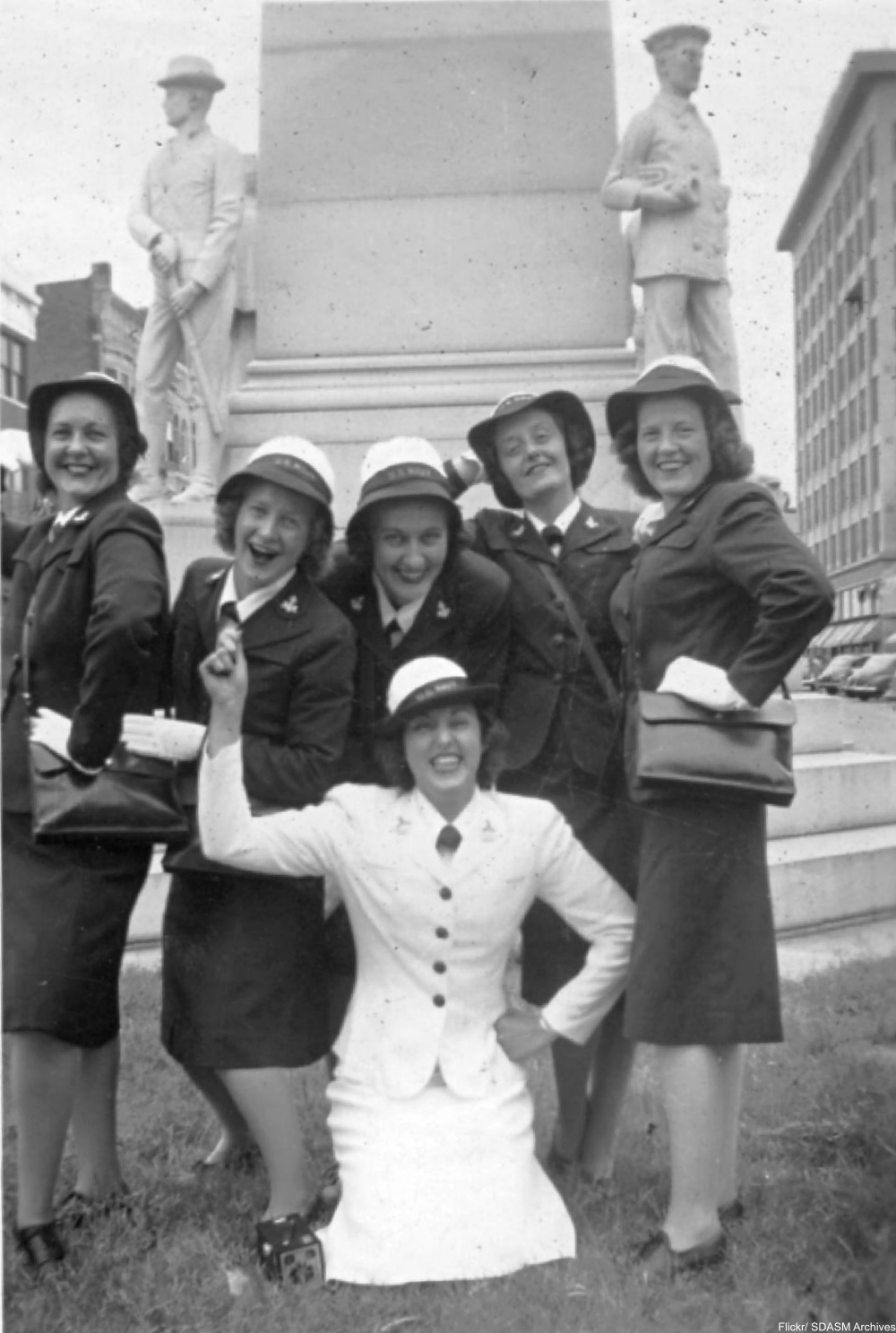 Waves, Farmerettes, and Munitions Workers from the 1940s in Action