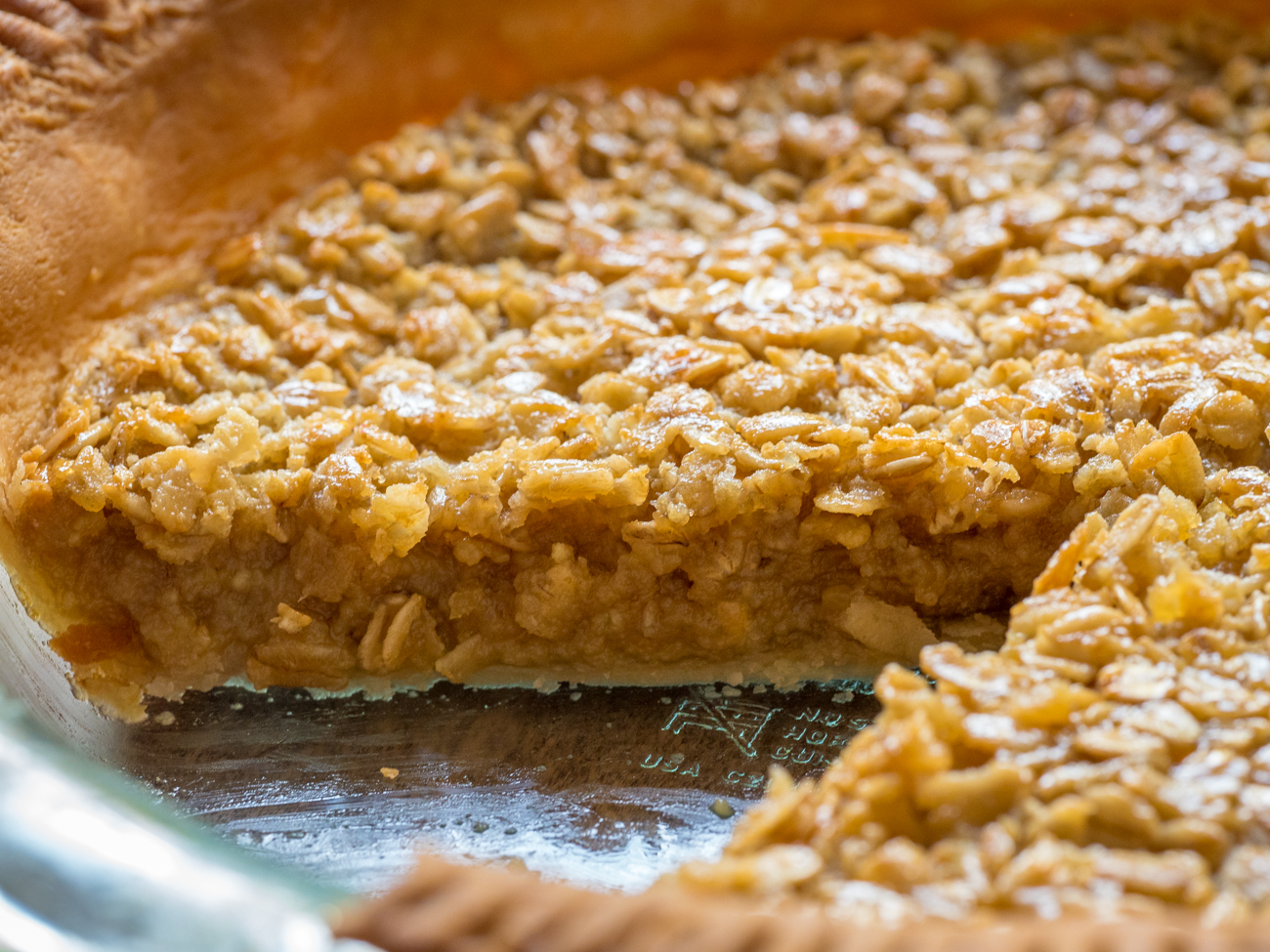 Amish Oatmeal Pie Horizontal 2