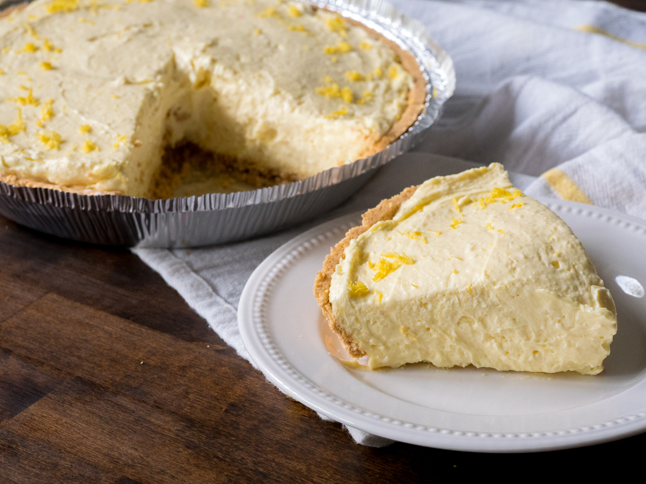 Cream Cheese Lemonade Pie Horizontal 2