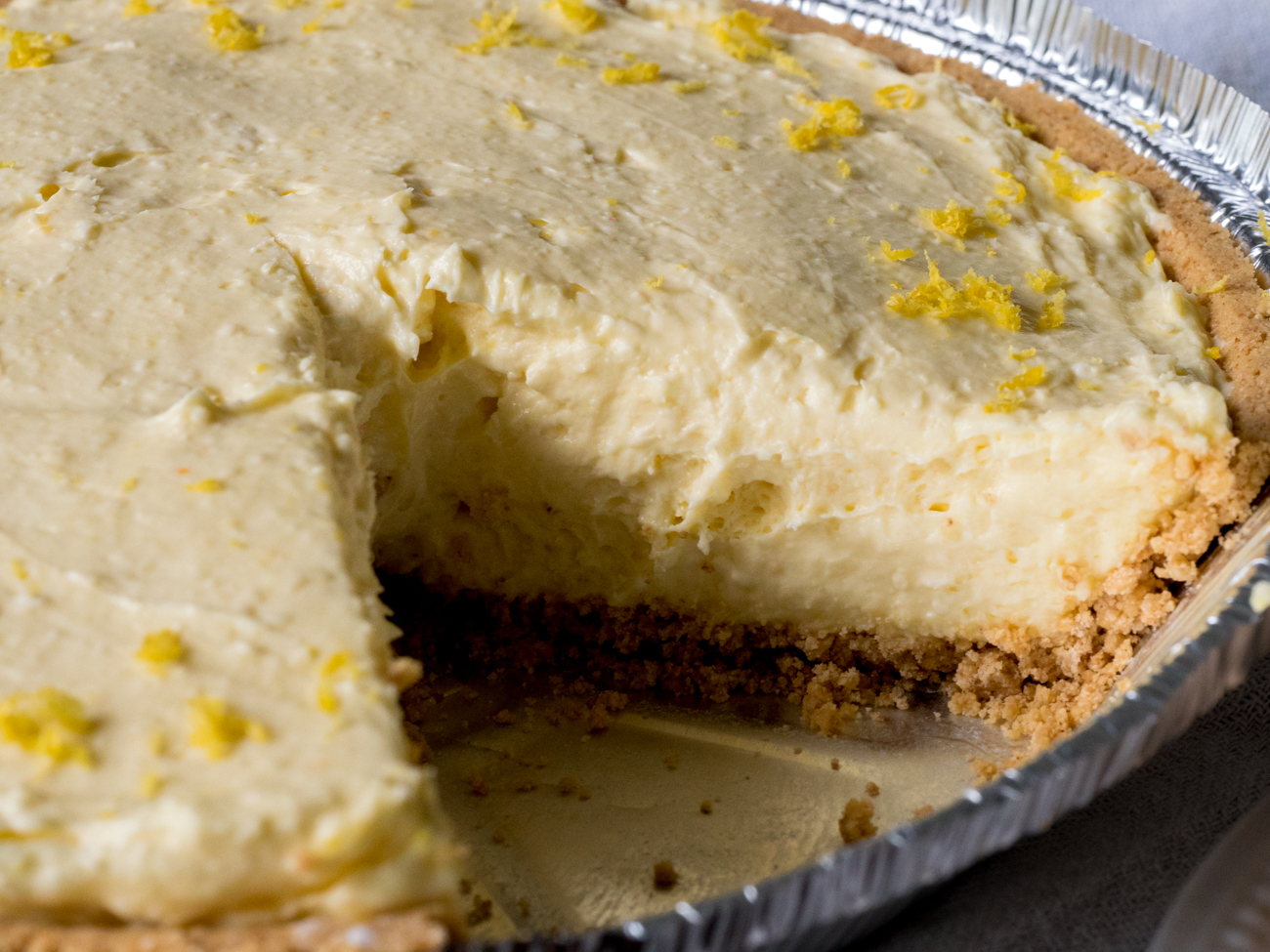 Cream Cheese Lemonade Pie Horizontal 4