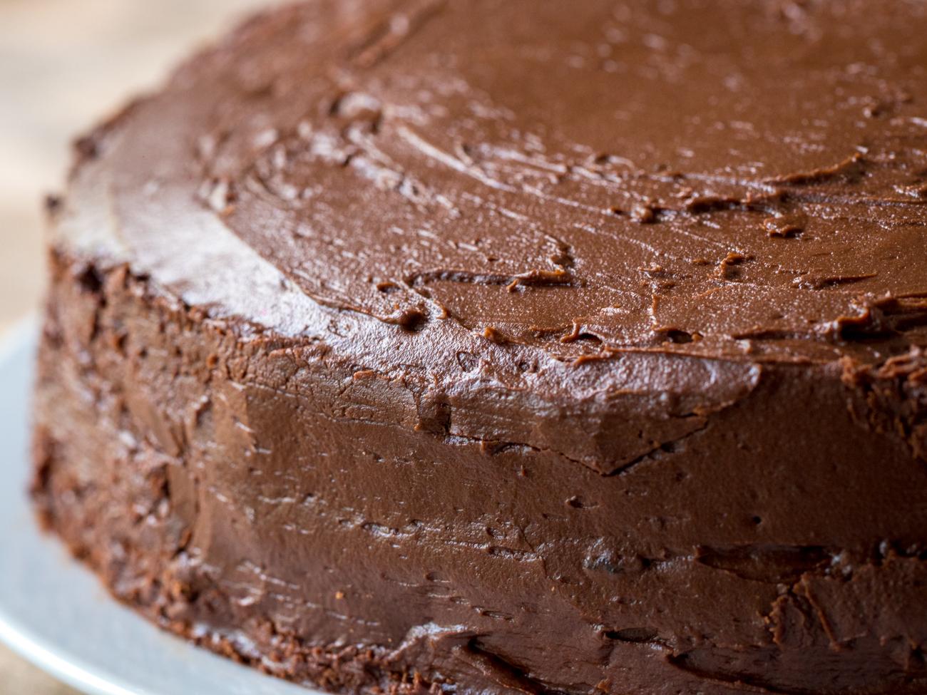 Depression Era Chocolate Cake Horizontal 1