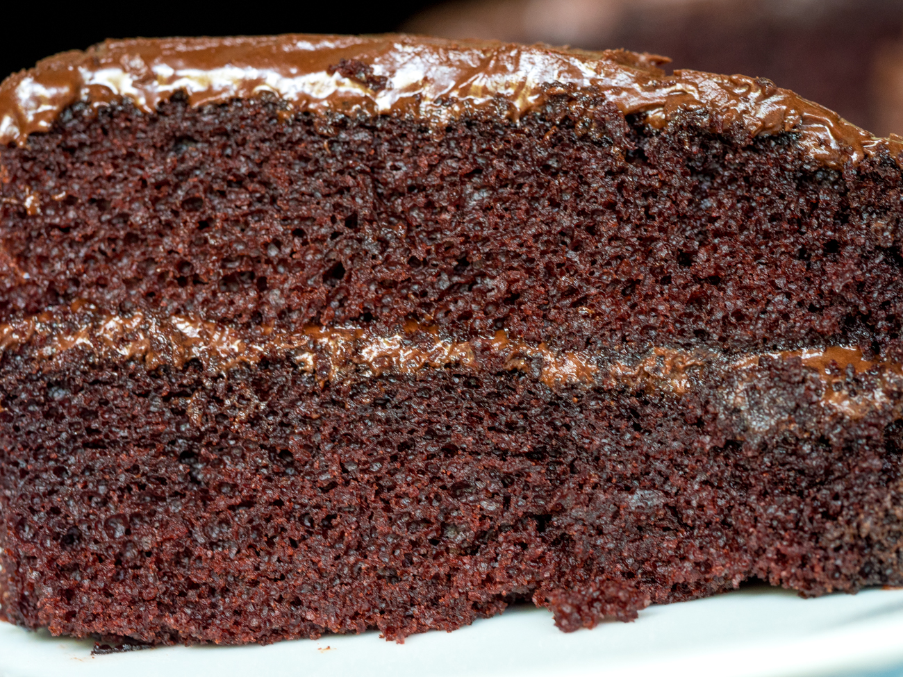 Depression Era Chocolate Cake Horizontal 4