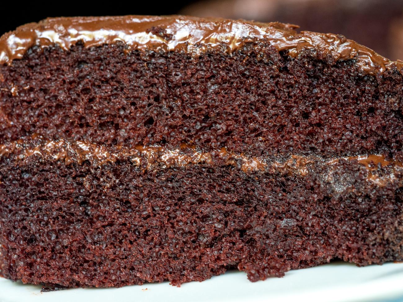Depression Era Chocolate Cake Horizontal 4
