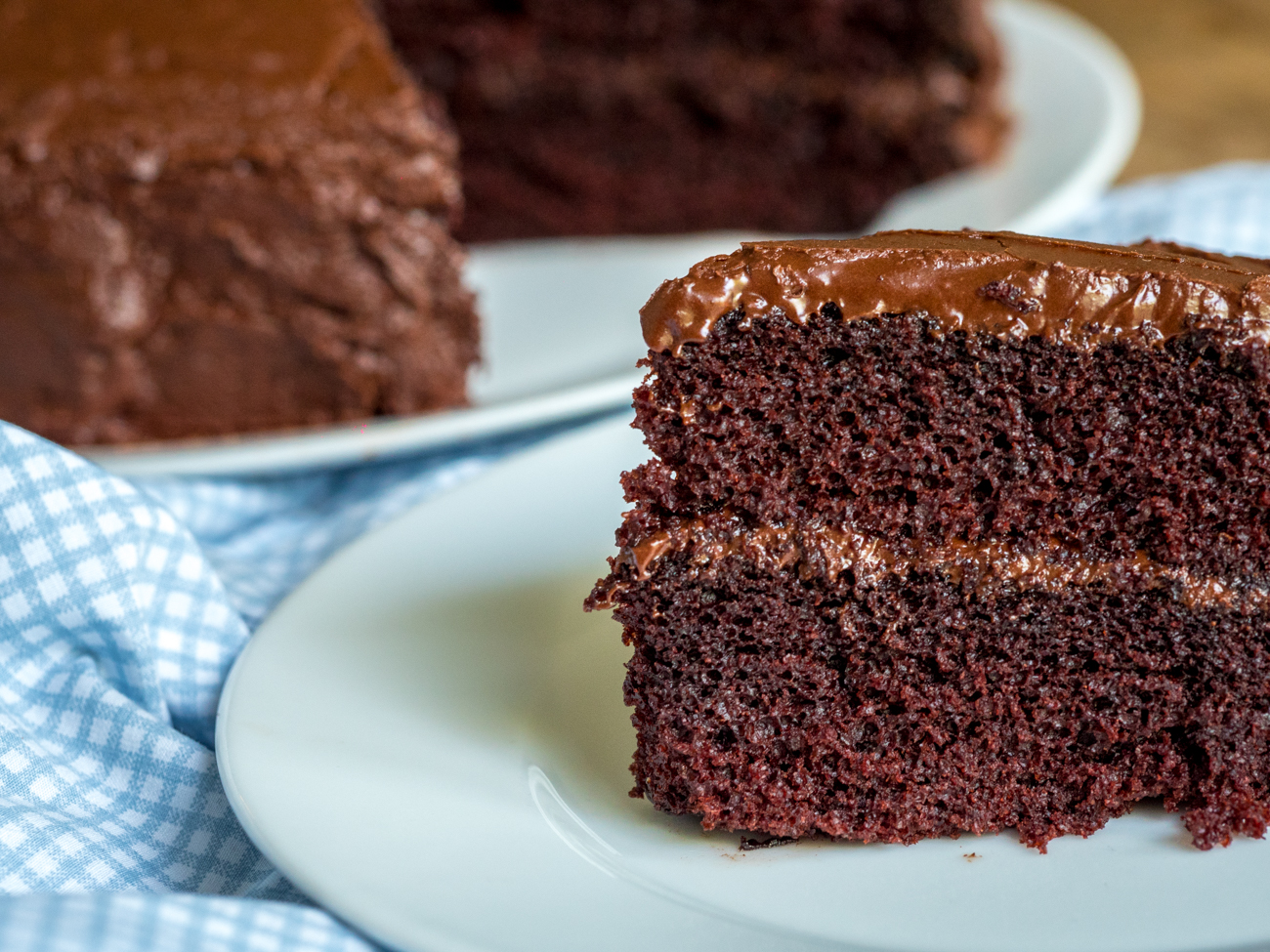 Depression Era Chocolate Cake