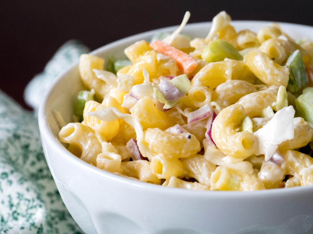 Macaroni Coleslaw Salad Horizontal 2