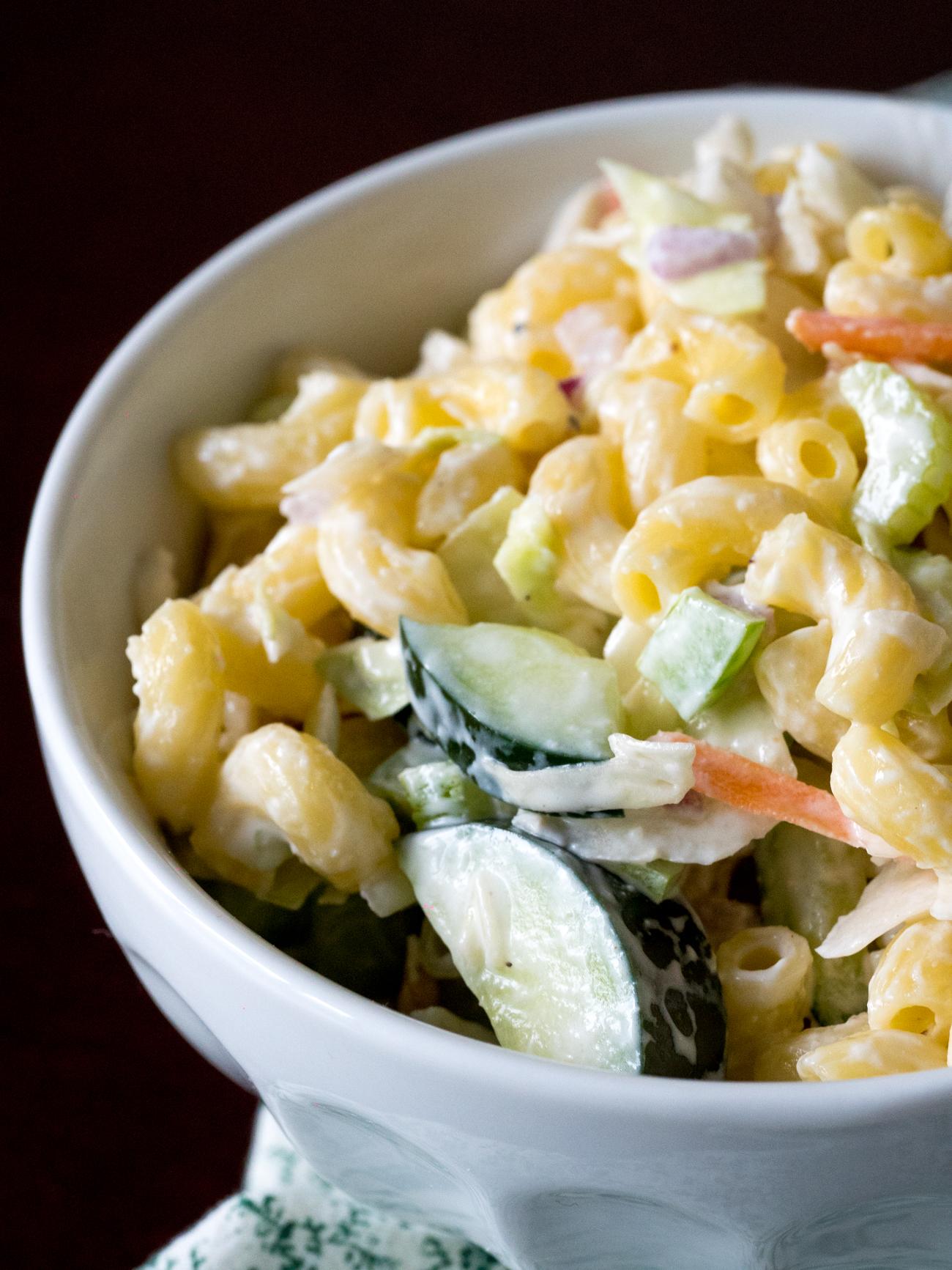 Macaroni Coleslaw Salad Vertical 1