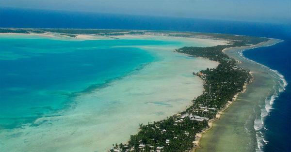 Source: Wikimedia Commons Tarawa Atoll