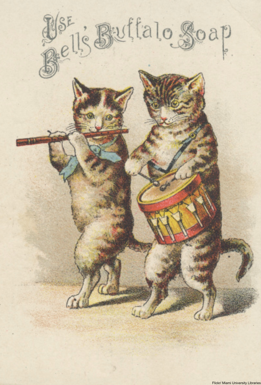 What Is the Deal with Anthropomorphic Animal Advertisements from the 19th Century?